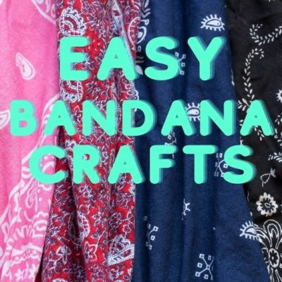 Easy Bandana Crafts You Can DIY in Minutes