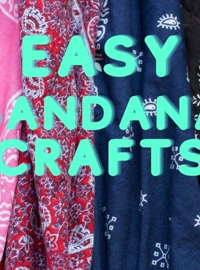 Easy Bandana Crafts for you to try - WildflowersAndWanderlust.com