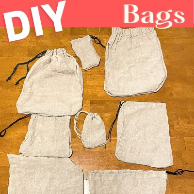 How to Easily Make Your own DIY Produce Bags