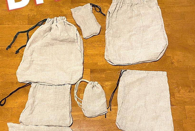 DIY Reusable Produce Bags (from a pair of pants). WildflowersAndWanderlust.com
